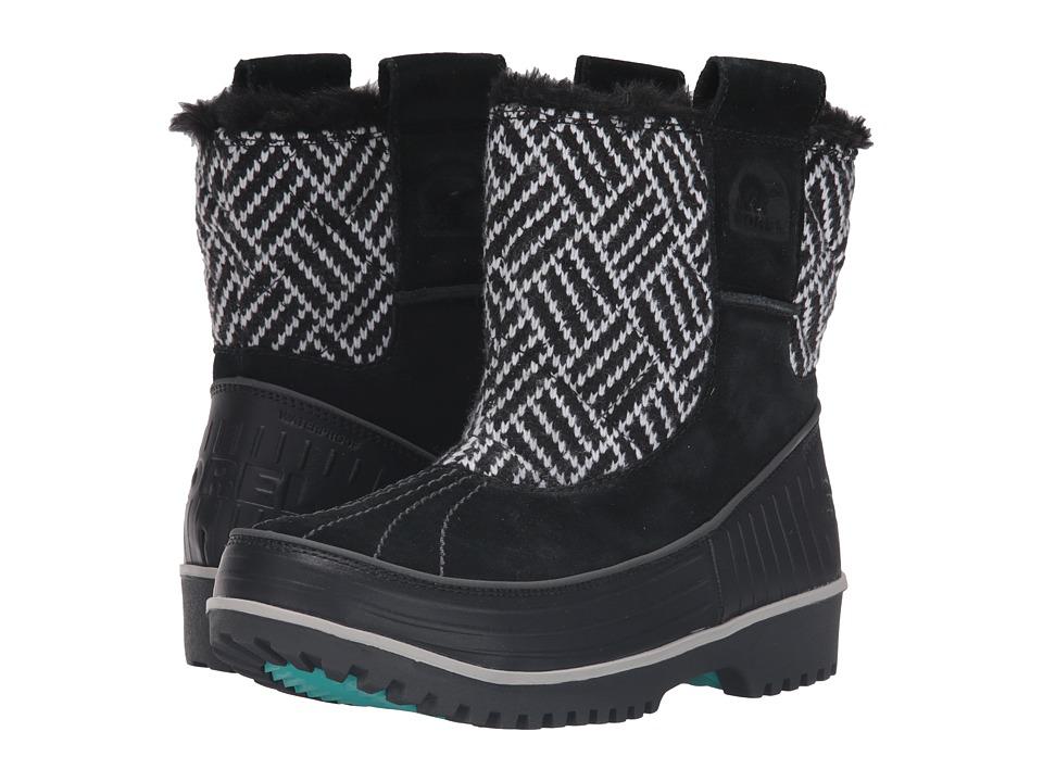 SOREL Kids - Tivoli II Pull-On (Little Kid/Big Kid) (Black/Shark) Girls Shoes