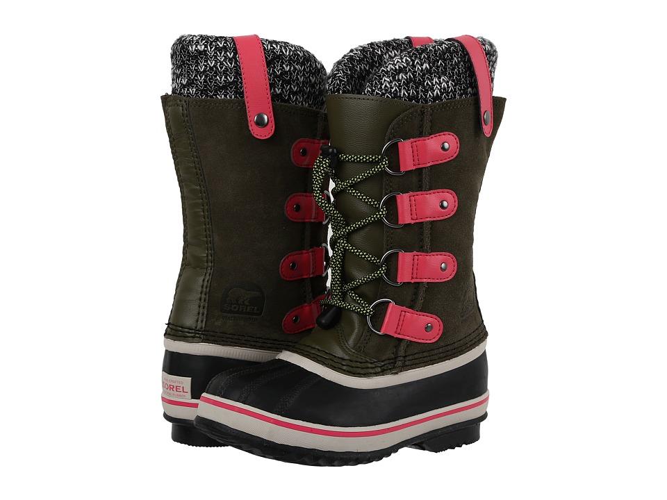 SOREL Kids - Joan of Arctic Knit (Little Kid/Big Kid) (Nori) Girls Shoes