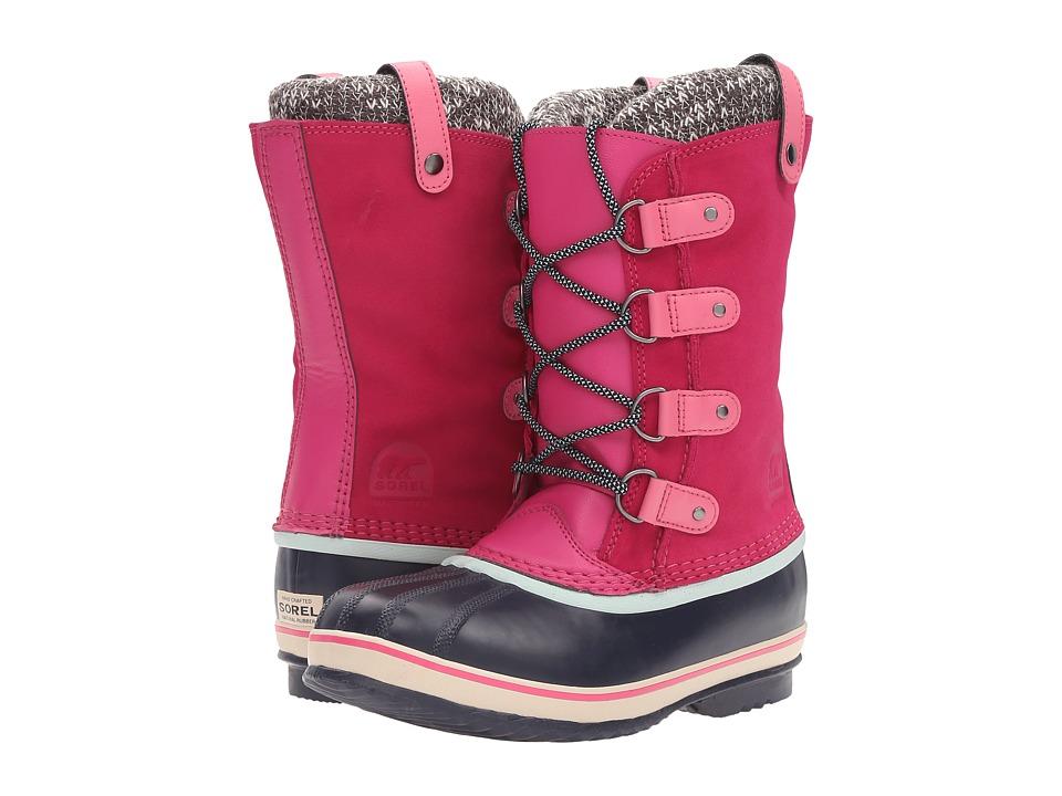 SOREL Kids Joan of Arctic Knit (Little Kid/Big Kid) (Haute Pink) Girls Shoes