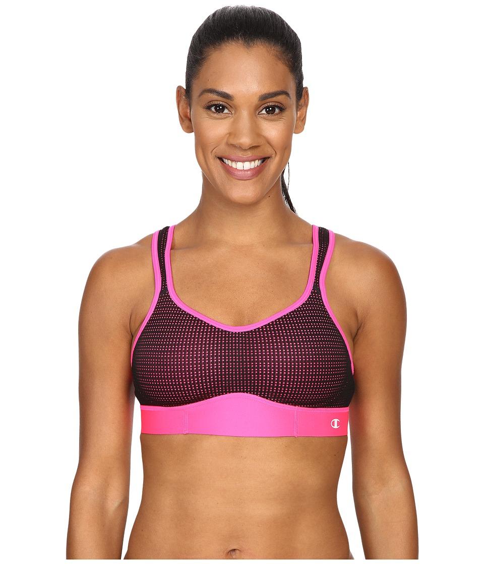 Champion - Mesh Bra (Pinksicle/Black) Women's Bra