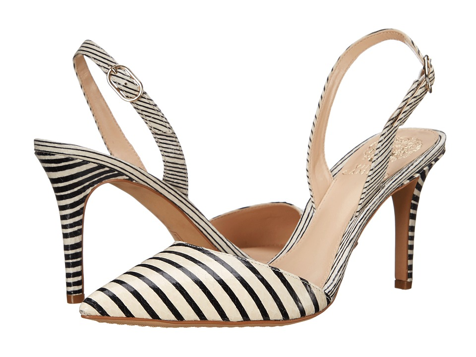 Vince Camuto - Barlowe (Black/White) Women's Shoes