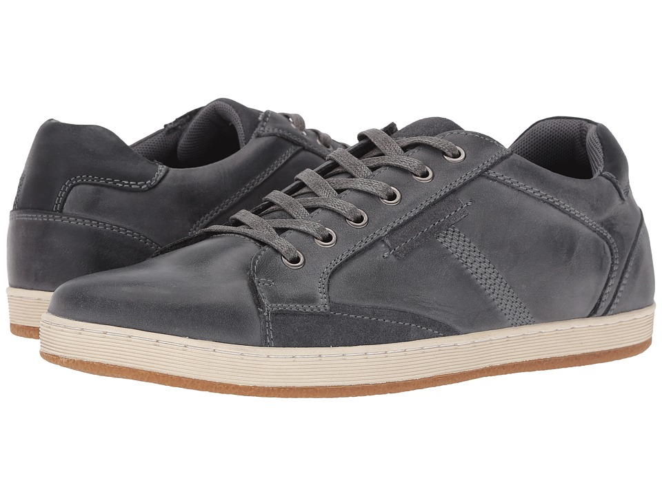 Steve Madden Peamont (Grey Leather) Men
