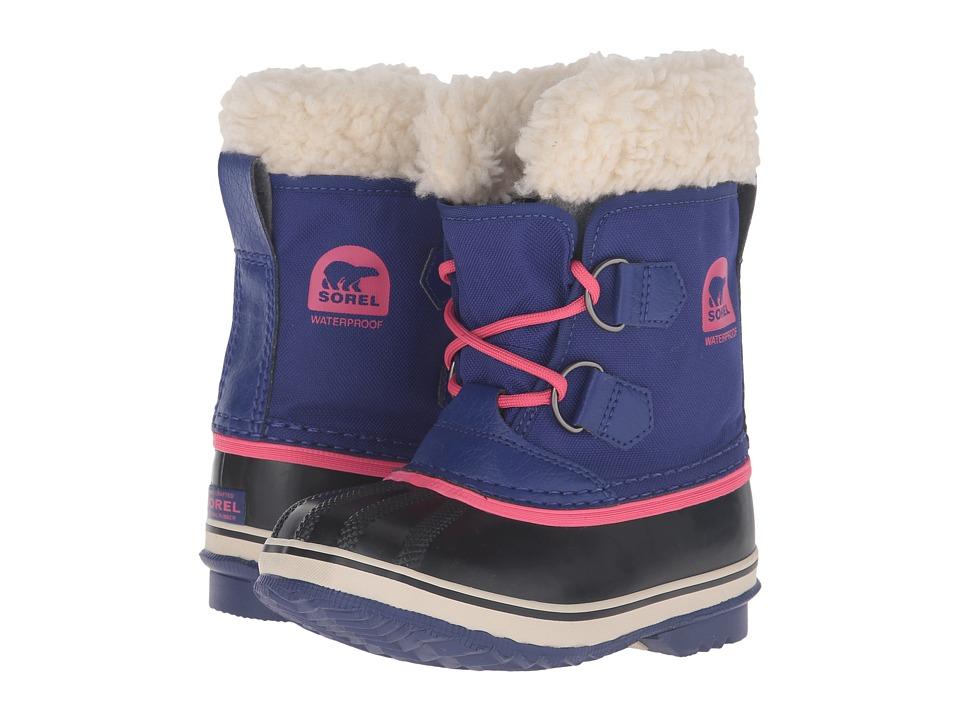SOREL Kids - Yoot Pac Nylon (Toddler/Little Kid) (Grape Juice) Girls Shoes