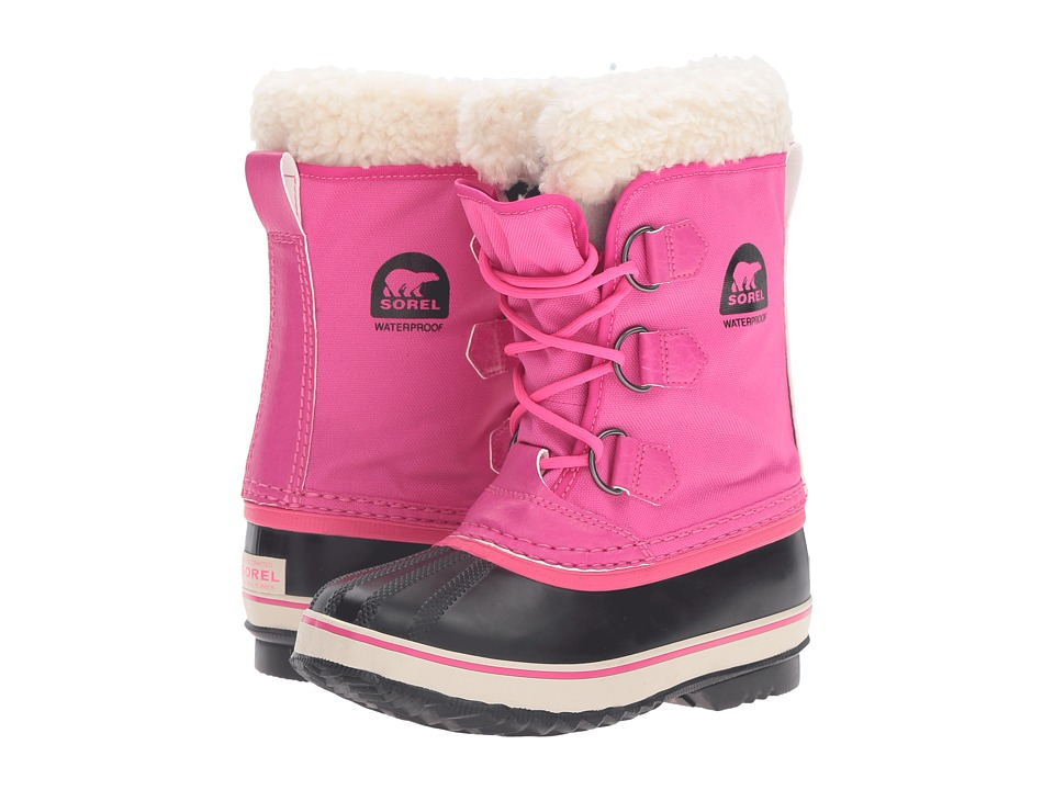SOREL Kids Yoot Pac Nylon (Little Kid/Big Kid) (Haute Pink) Girls Shoes