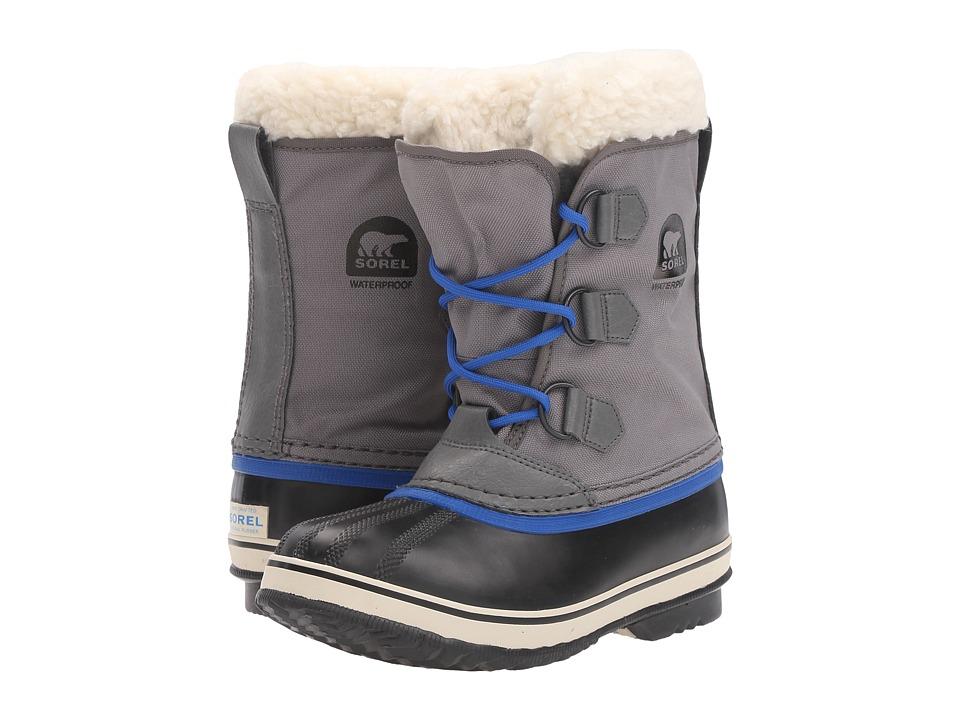 SOREL Kids Yoot Pactm Nylon (Little Kid/Big Kid) (City Grey) Boys Shoes