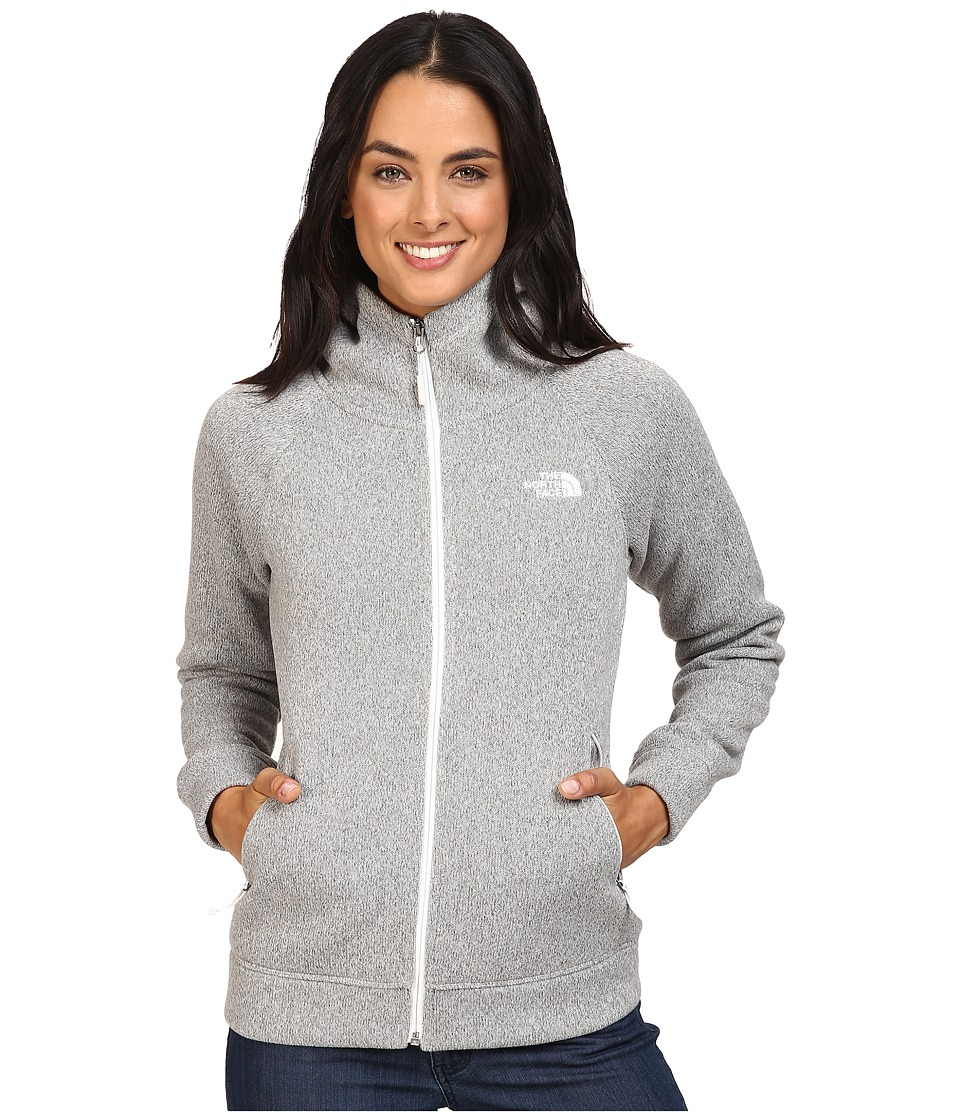 The North Face - Crescent Raschel Hoodie (Lunar Ice Grey Heather) Women's Sweatshirt