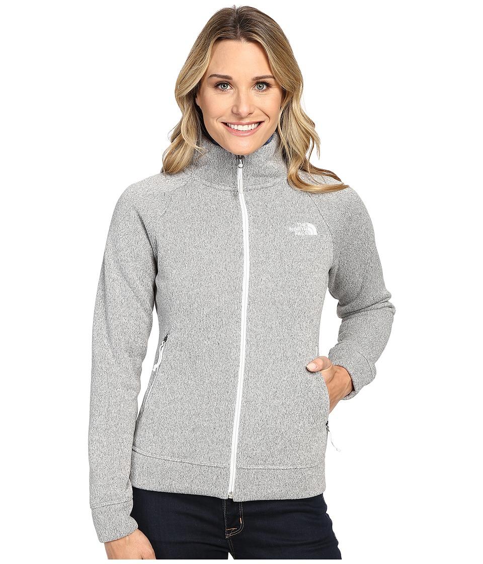The North Face - Crescent Raschel Full Zip Jacket (Lunar Ice Grey Heather) Women's Coat