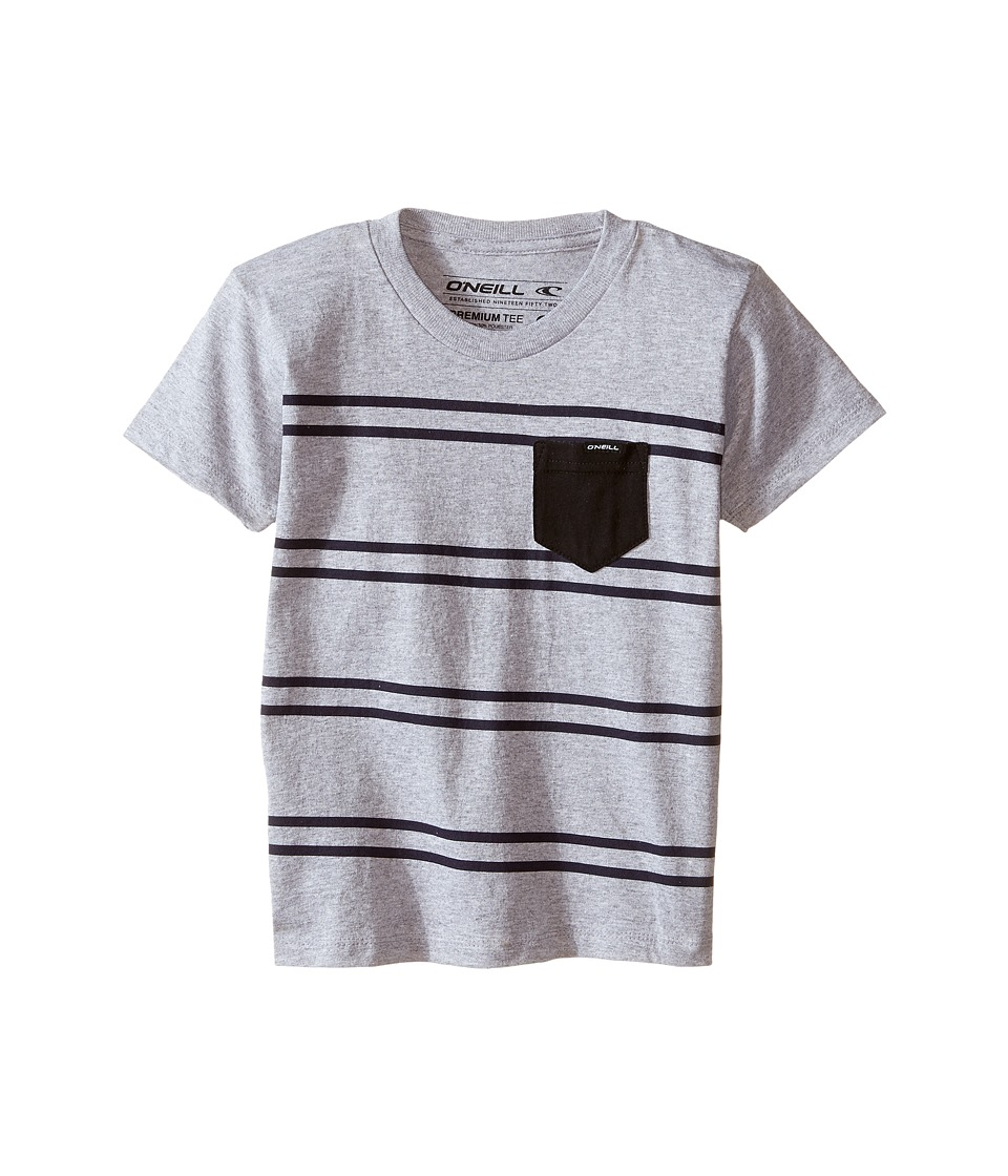 O'Neill Kids - Hacienda Tee (Little Kids) (Medium Heather Grey) Boy's T Shirt