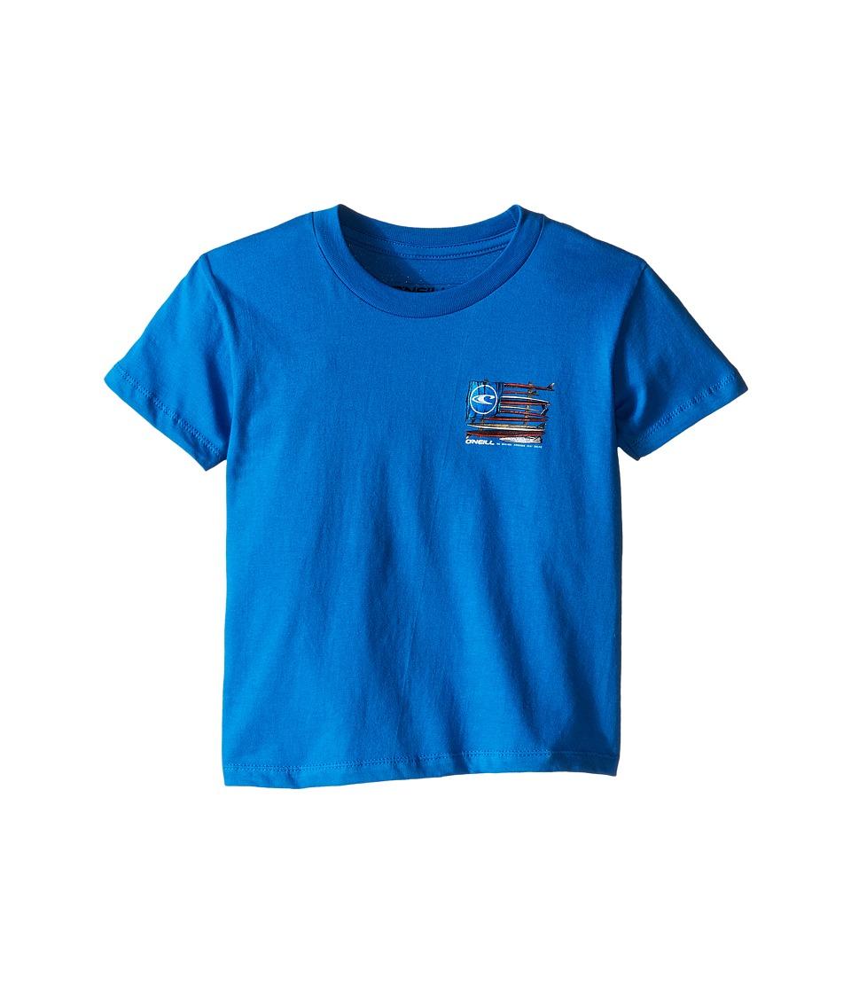 O'Neill Kids - United Tee (Little Kids) (Sea Blue) Boy's Short Sleeve Pullover