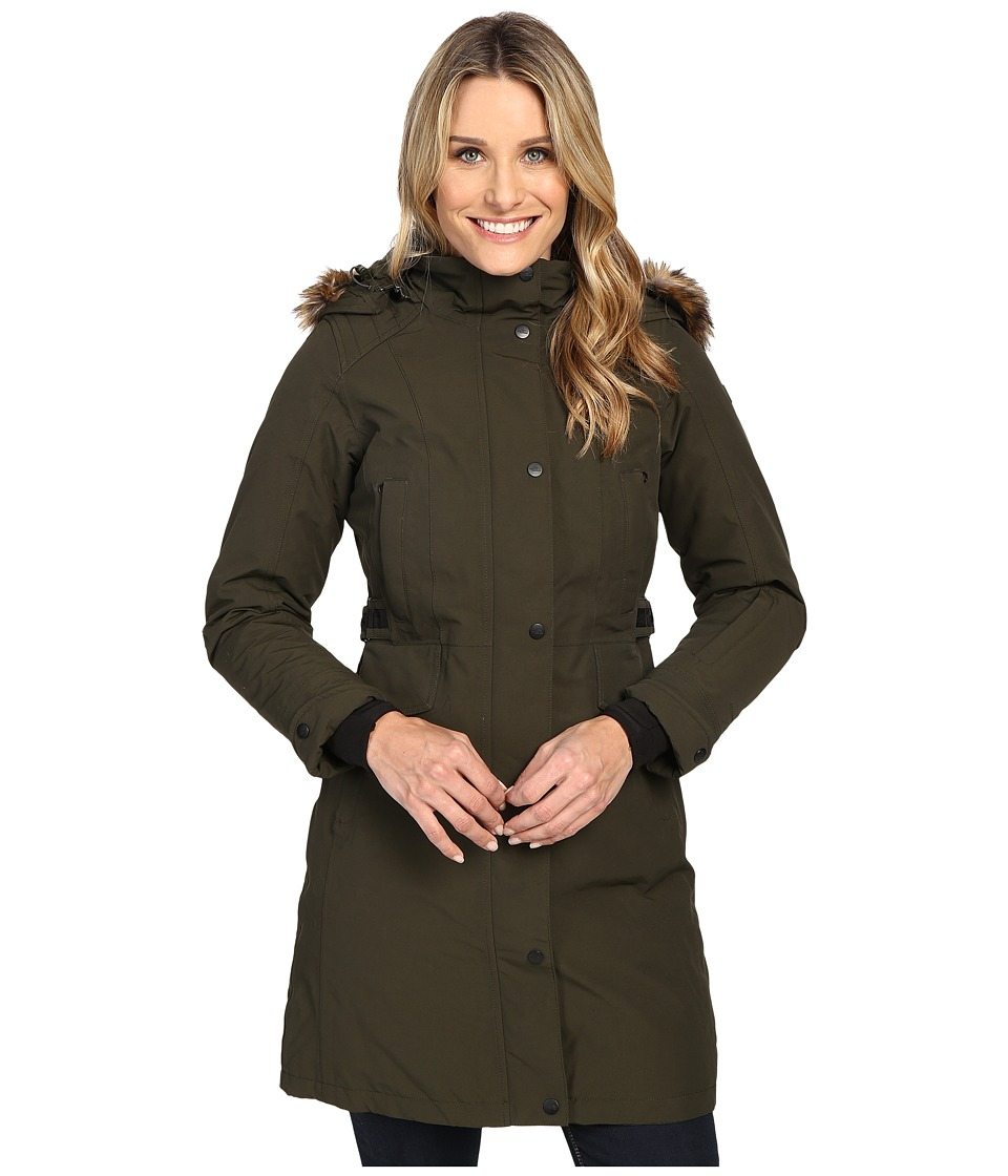 The North Face - Tremaya Parka (Rosin Green) Women's Coat