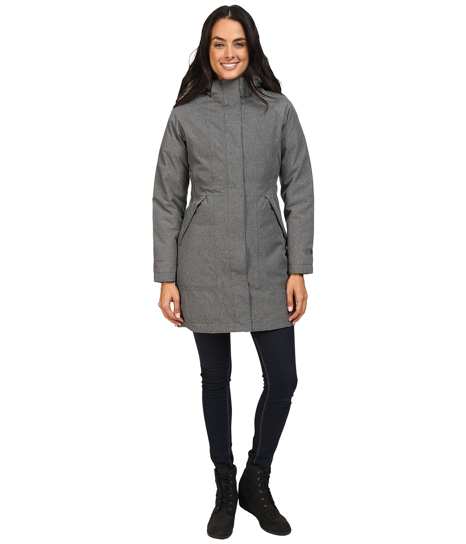 The North Face - Arctic Parka (TNF Medium Grey Heather) Women's Coat