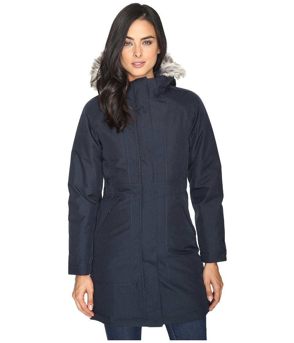 The North Face - Arctic Parka (Urban Navy Heather) Women's Coat