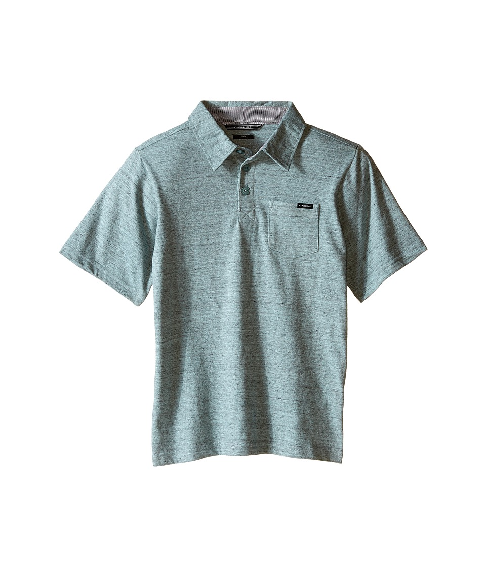 O'Neill Kids - The Bay Polo Short Sleeve Top (Little Kids) (Light Blue) Boy's Short Sleeve Pullover