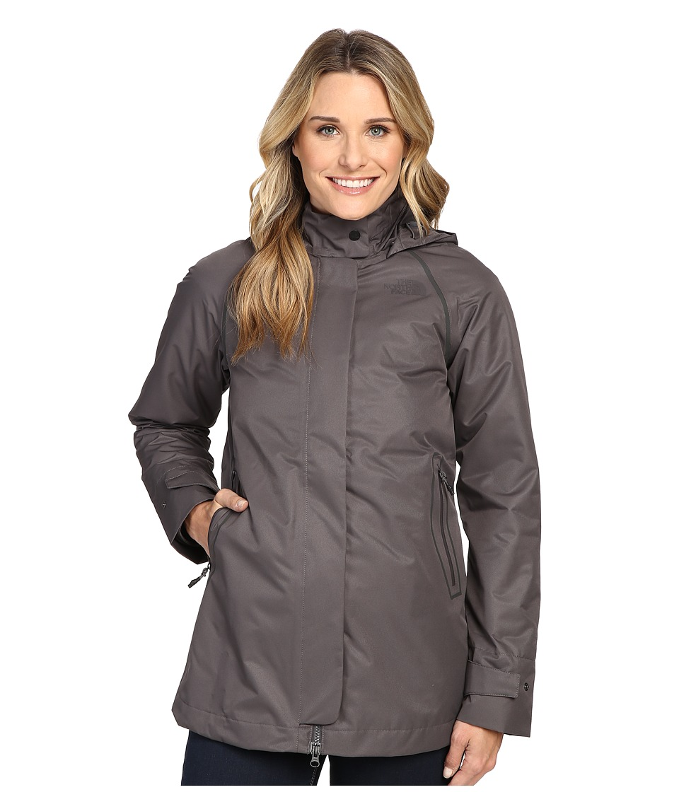 The North Face - Mosswood Triclimate Jacket (Graphite Grey) Women's Coat