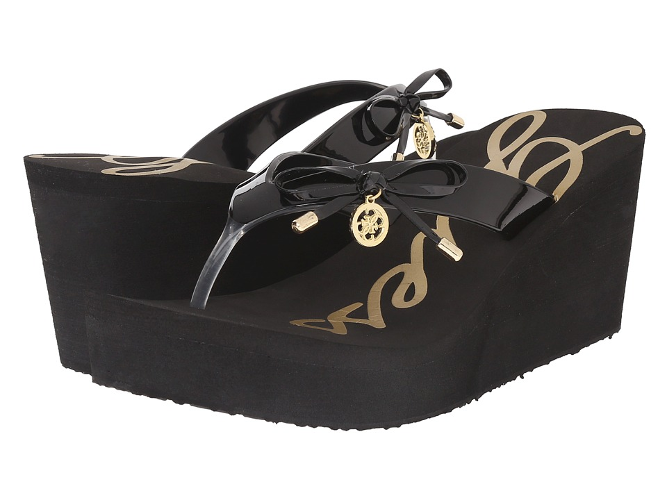 GUESS - Safire (Black EVA) Women's Shoes
