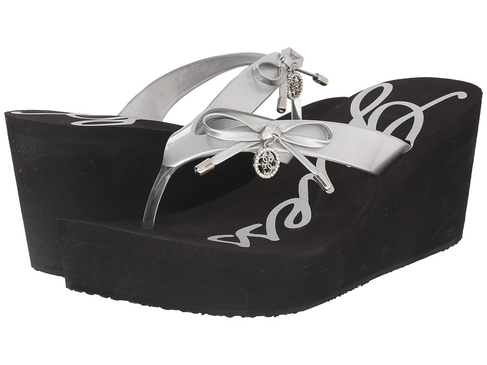 GUESS - Safire (Silver Eva) Women's Shoes