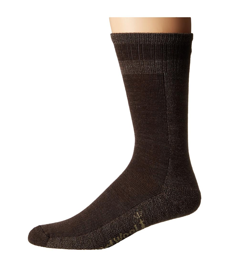 Smartwool - Traverser (Chestnut) Men's Crew Cut Socks Shoes