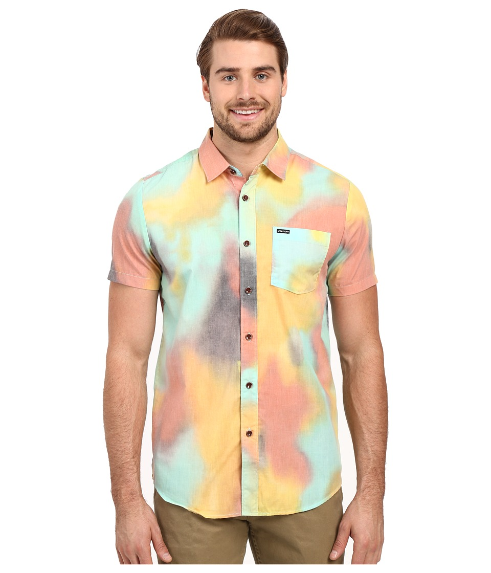 Volcom - Drippin Daisy Short Sleeve Woven (Multi) Men's Clothing