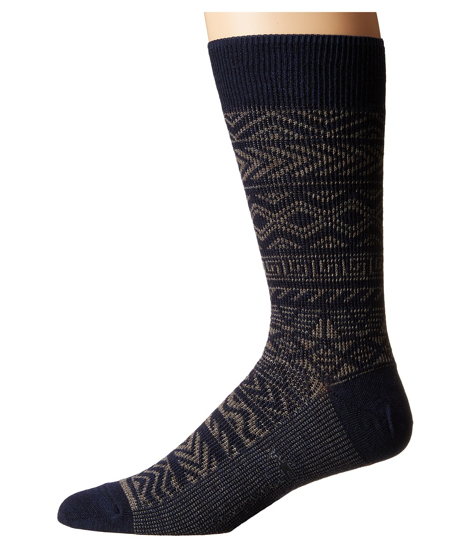 Smartwool - Backcountry Cabin Crew (Taupe) Men's Crew Cut Socks Shoes