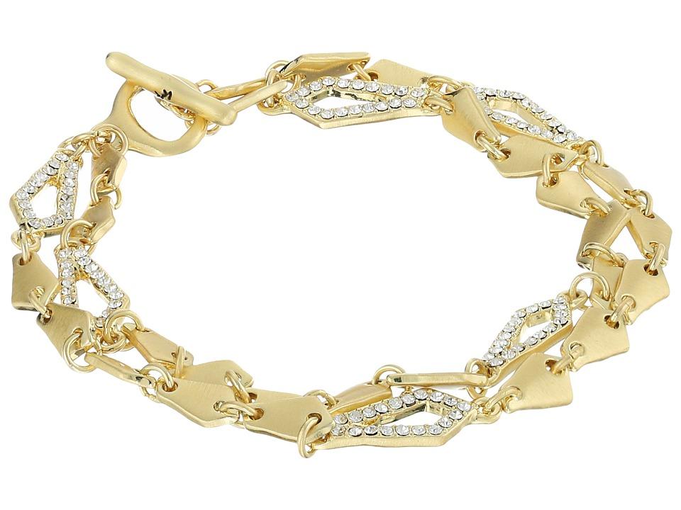 Karen Kane - Tone Radiant Reflections Bracelet (Gold) Bracelet