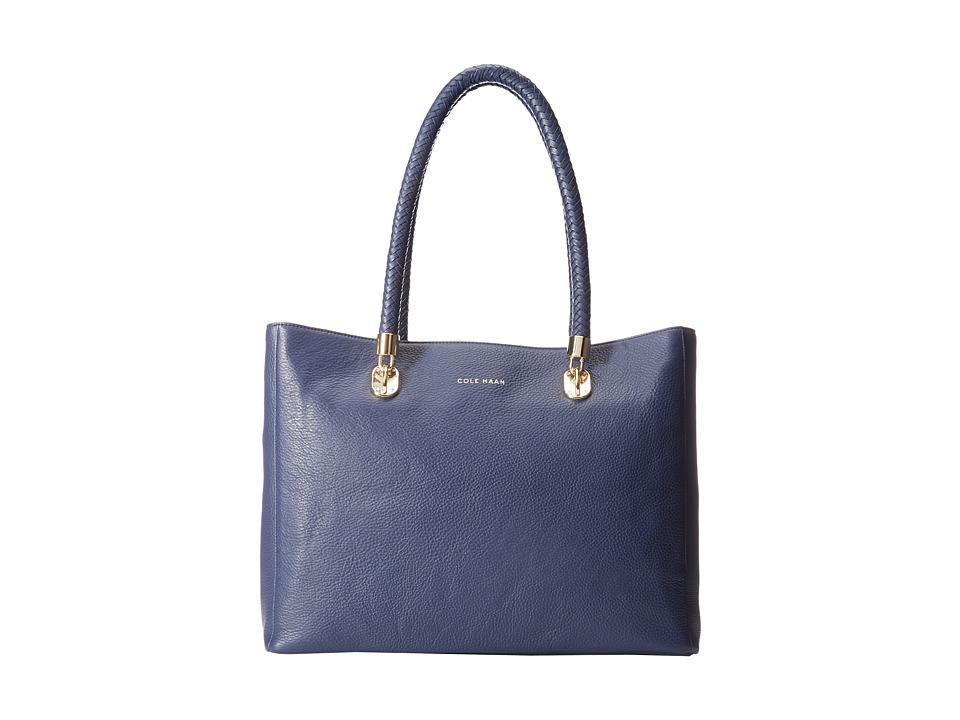 Cole Haan - Benson Pebble Large Tote (Blazer Blue) Tote Handbags