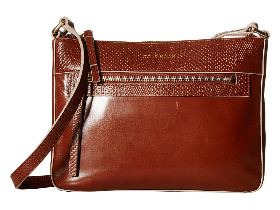 Cole Haan - Reese Large Crossbody (Sequoia) Cross Body Handbags