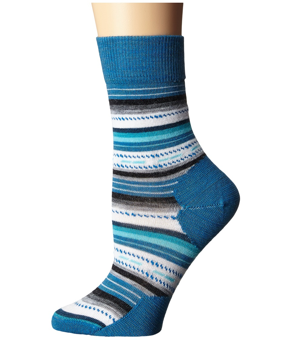 Smartwool - Margarita (Glacial Blue Heather) Women's Crew Cut Socks Shoes