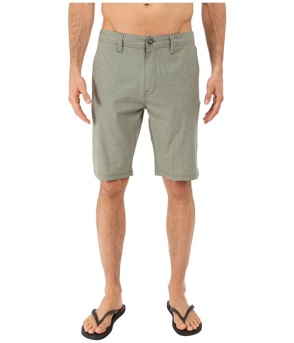 Volcom - SNT Static Hybrid Shorts (Army Green Combo) Men's Shorts