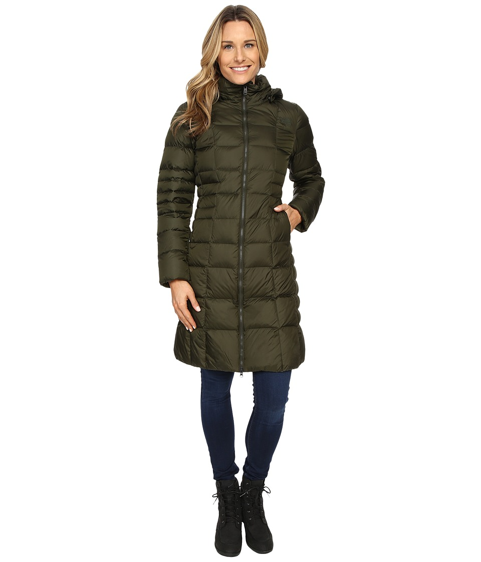 The North Face - Metropolis Parka II (Rosin Green) Women's Coat