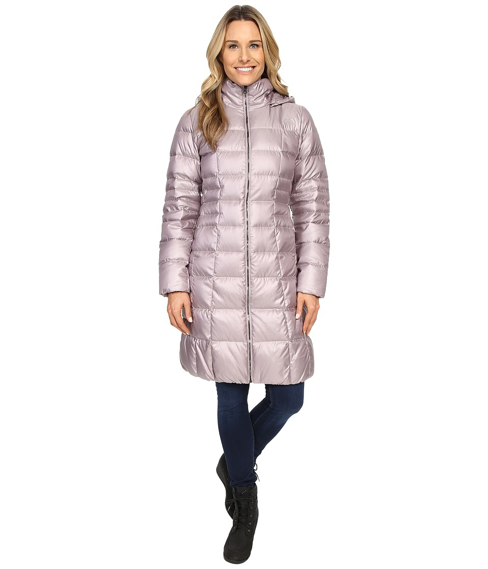 The North Face - Metropolis Parka II (Quail Grey) Women's Coat