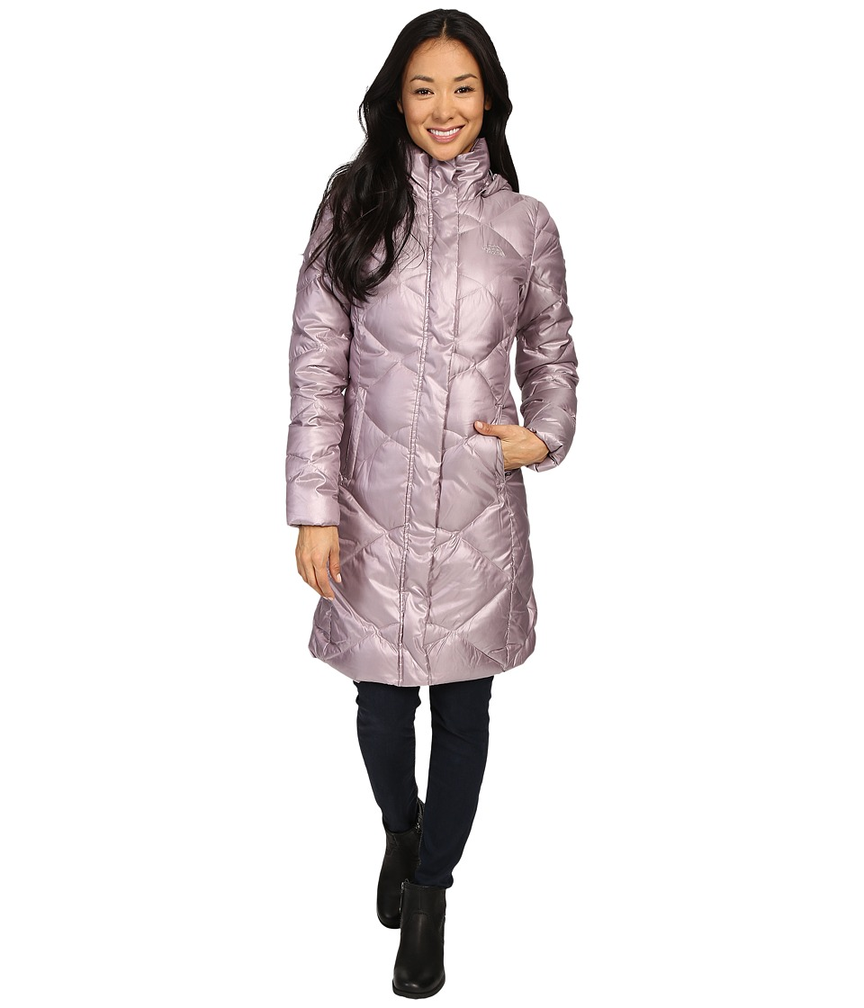 The North Face - Miss Metro Parka (Quail Grey) Women's Coat