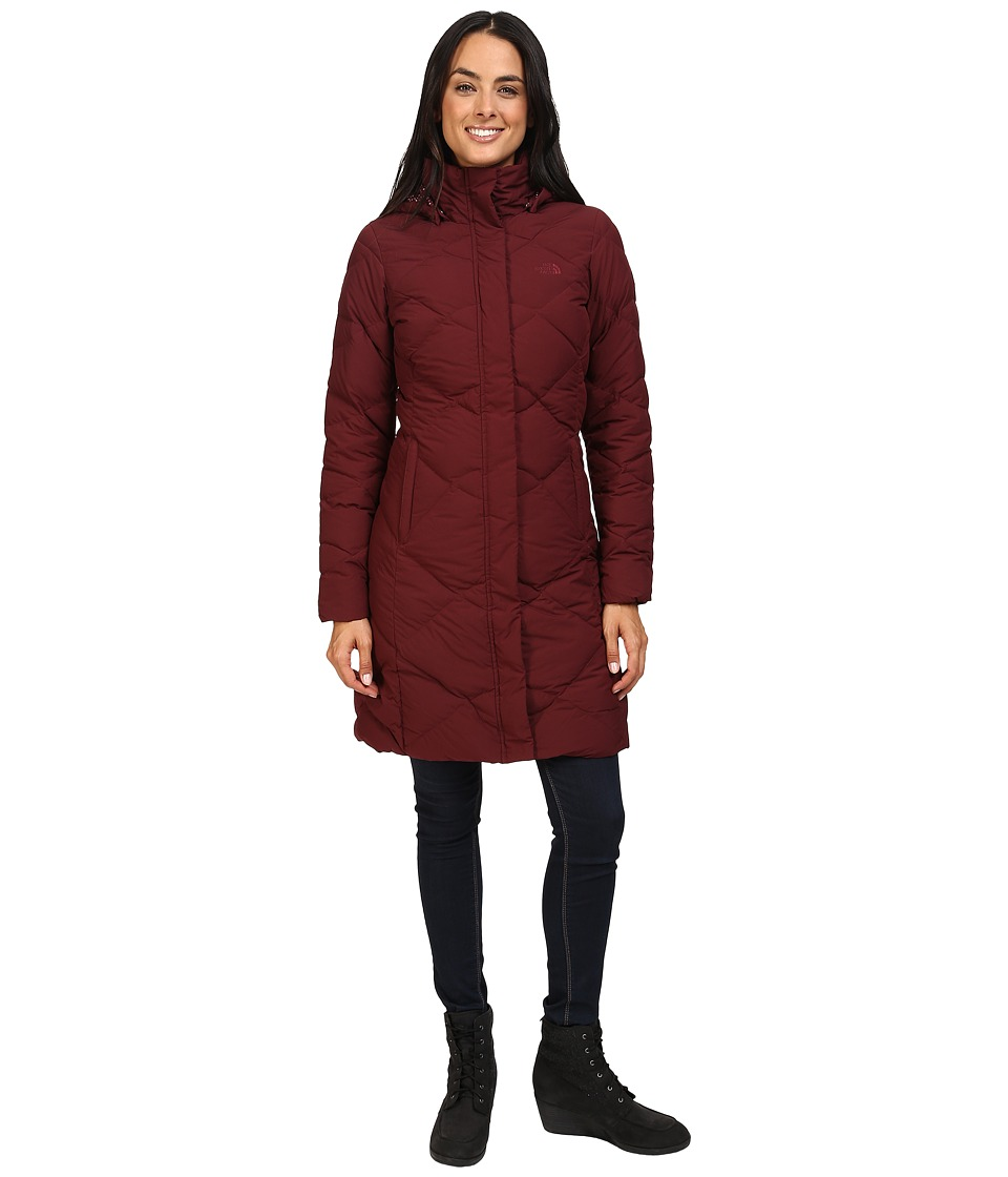 The North Face - Miss Metro Parka (Deep Garnet Red) Women's Coat