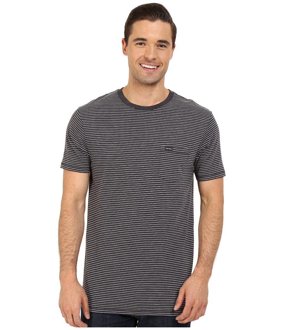 Volcom - Ledger Crew (Black) Men's T Shirt