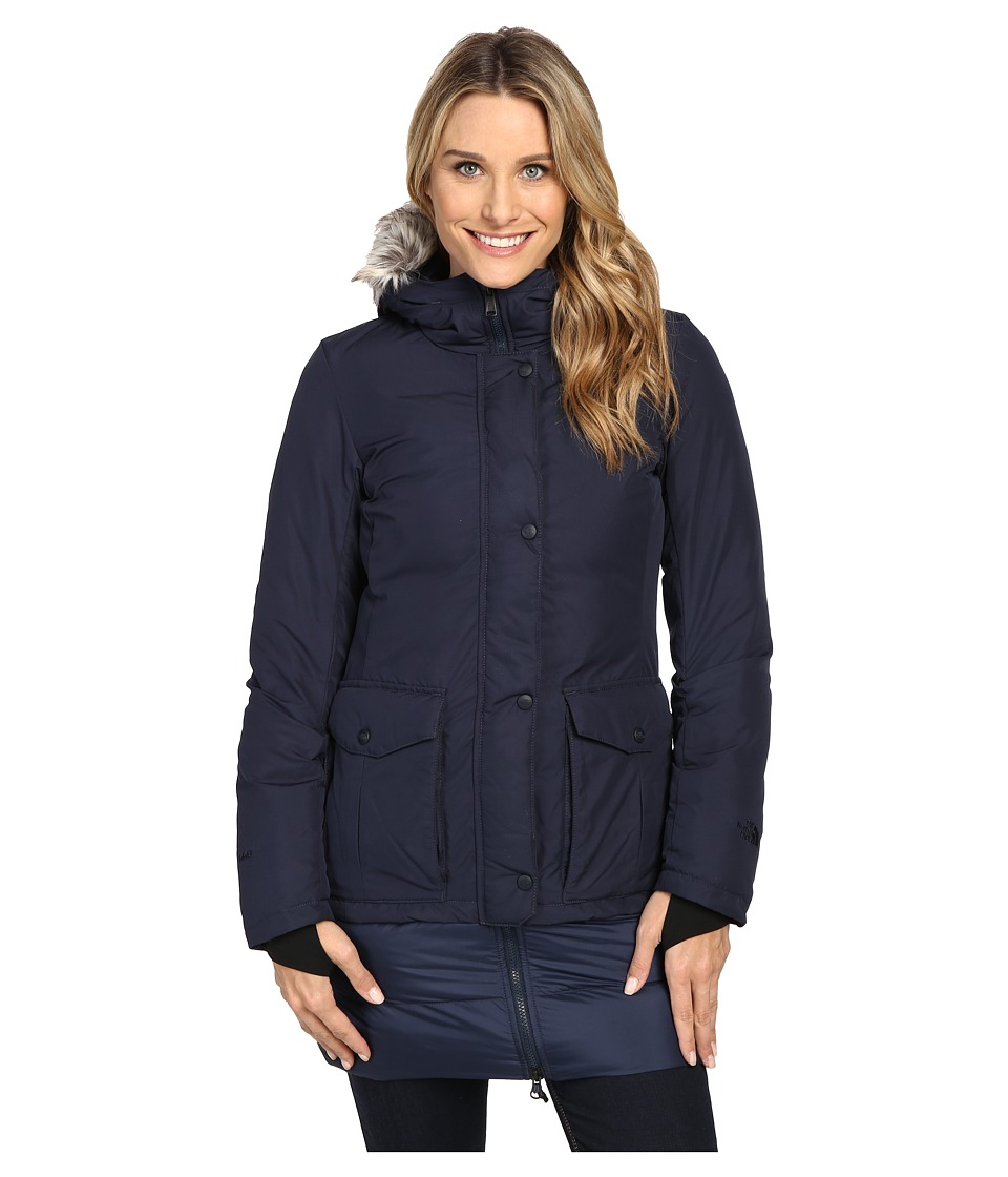 The North Face - Tuvu Parka (Urban Navy) Women's Coat