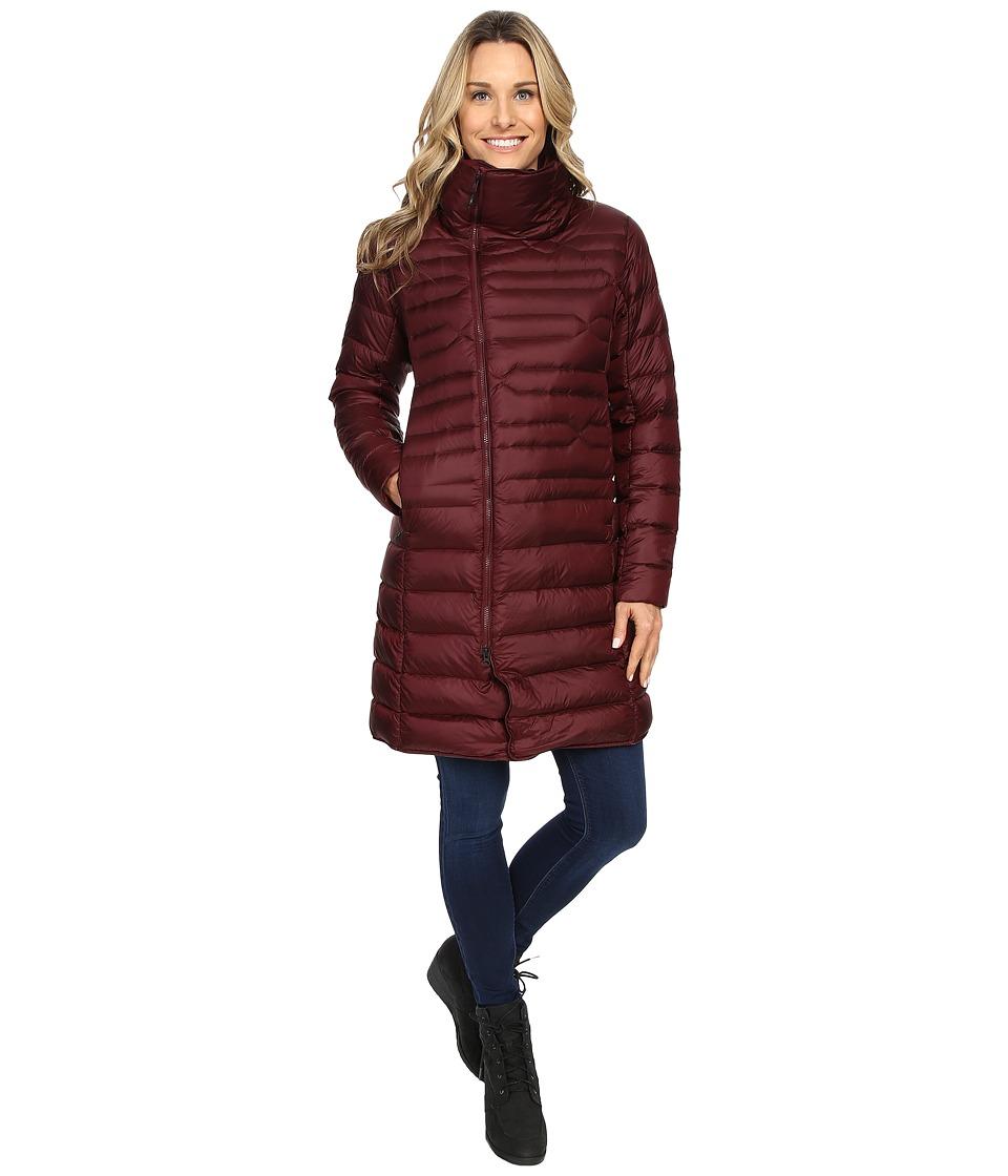 The North Face - Far Northern Parka (Deep Garnet Red) Women's Coat