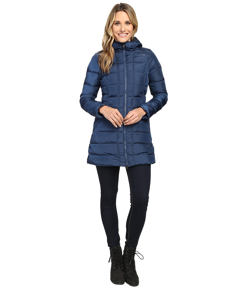 The North Face - Gotham Parka (Shady Blue) Women's Coat