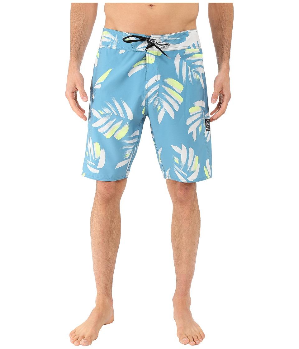 Volcom - Nuevo Mod 20 Boardshorts (Stormy Blue) Men's Swimwear