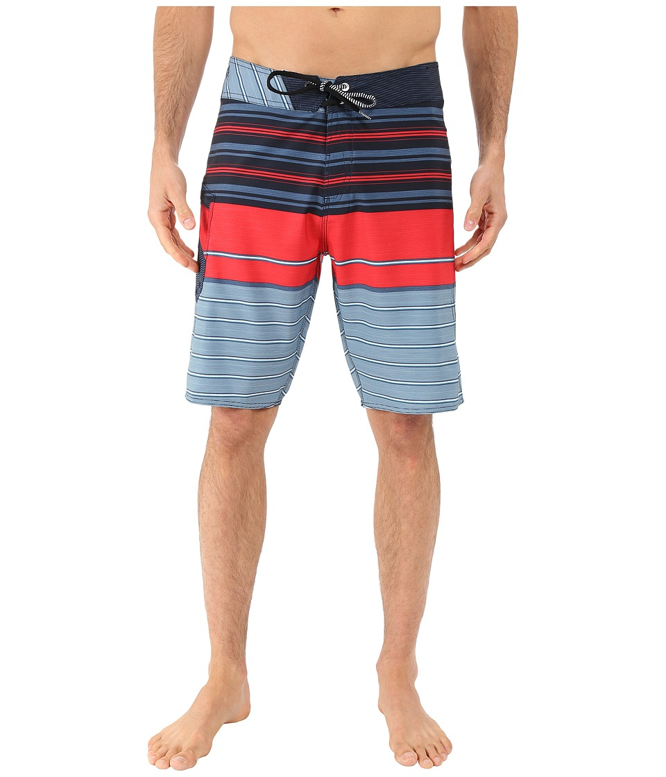 Volcom - Lido Liner Mod 20 Boardshorts (Smokey Blue) Men's Swimwear