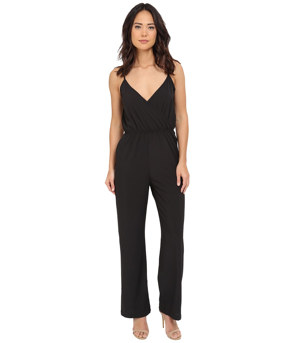 Brigitte Bailey - Luna Spaghetti Strap Jumper (Black) Women's Jumpsuit & Rompers One Piece