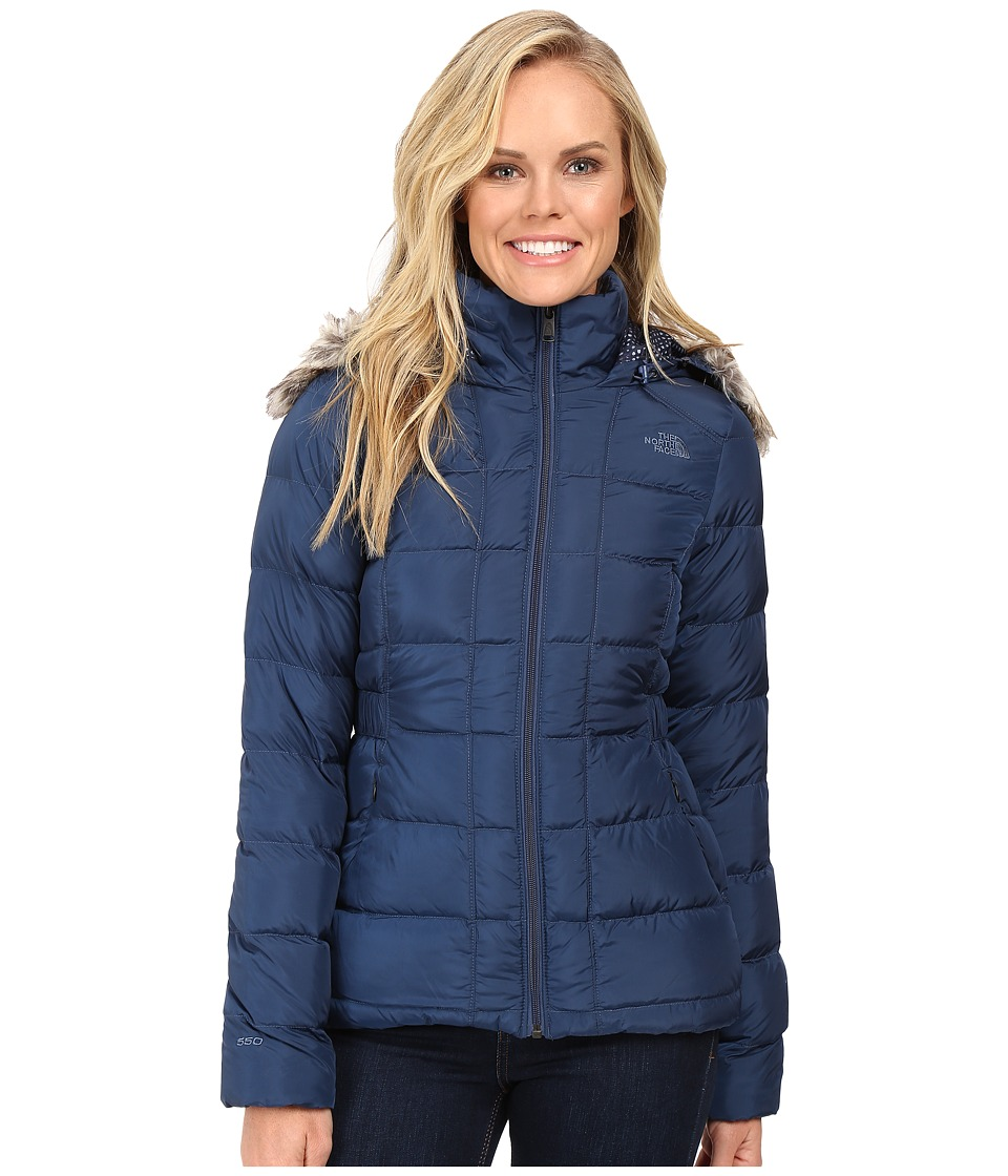 The North Face - Gotham Down Jacket (Shady Blue) Women's Coat