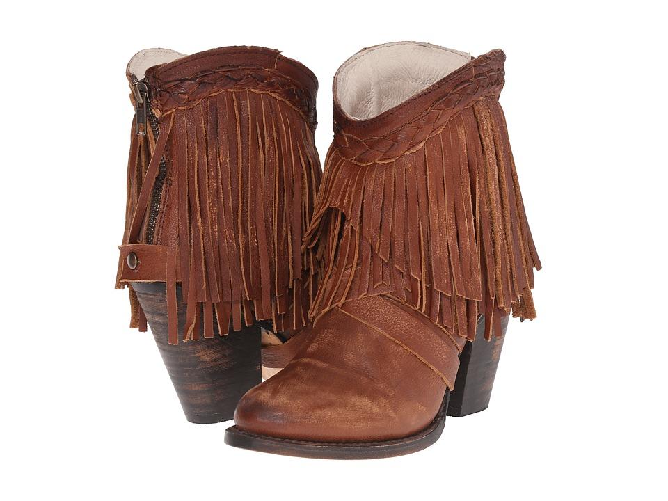 Freebird - Toronto (Cognac) Women's Zip Boots
