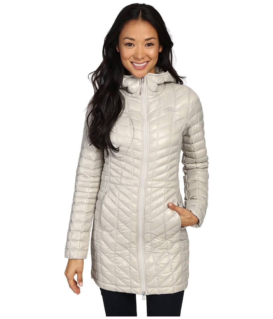 The North Face - ThermoBall Hooded Parka (Dove Grey) Women's Coat