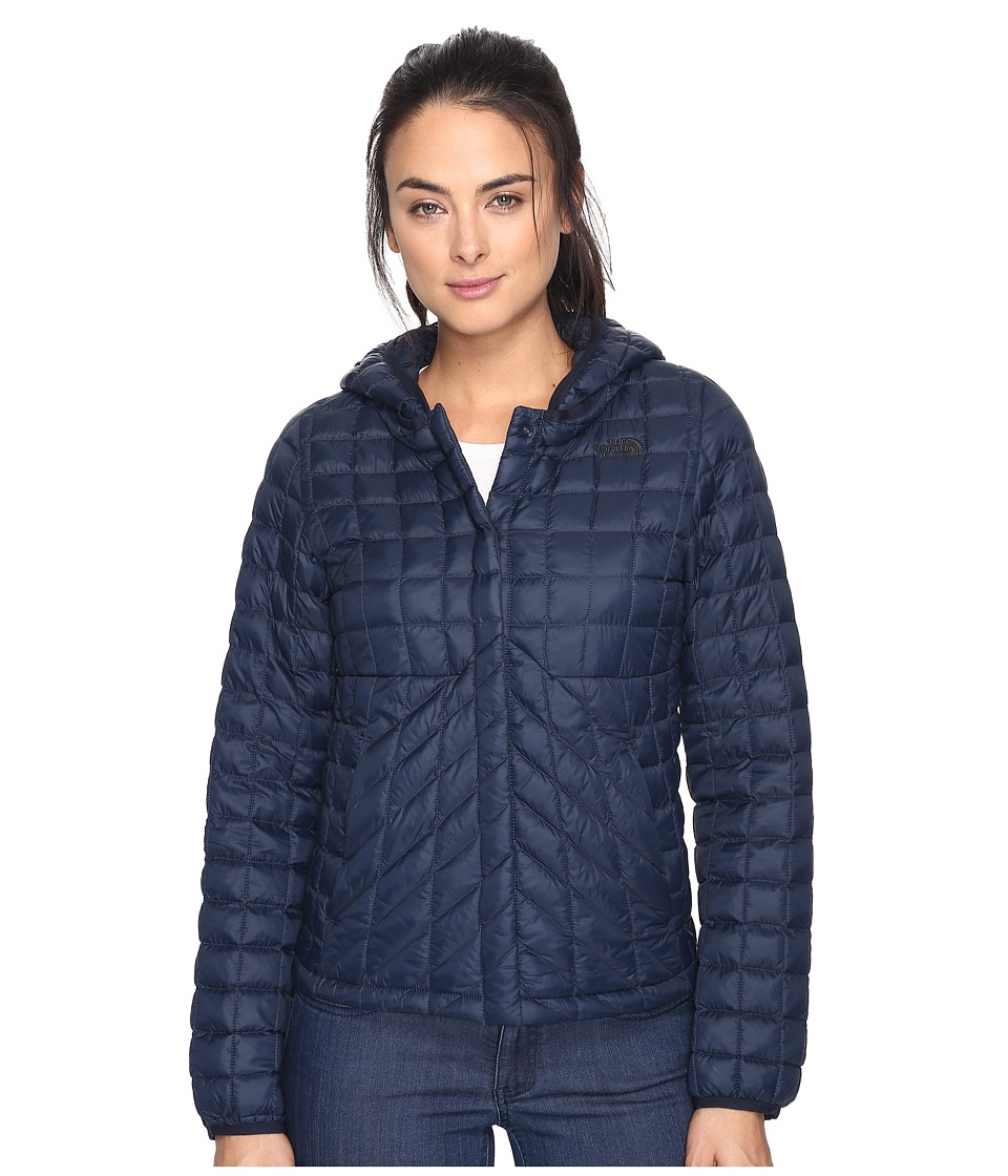 The North Face - ThermoBall Cardigan (Urban Navy (Prior Season)) Women's Sweatshirt
