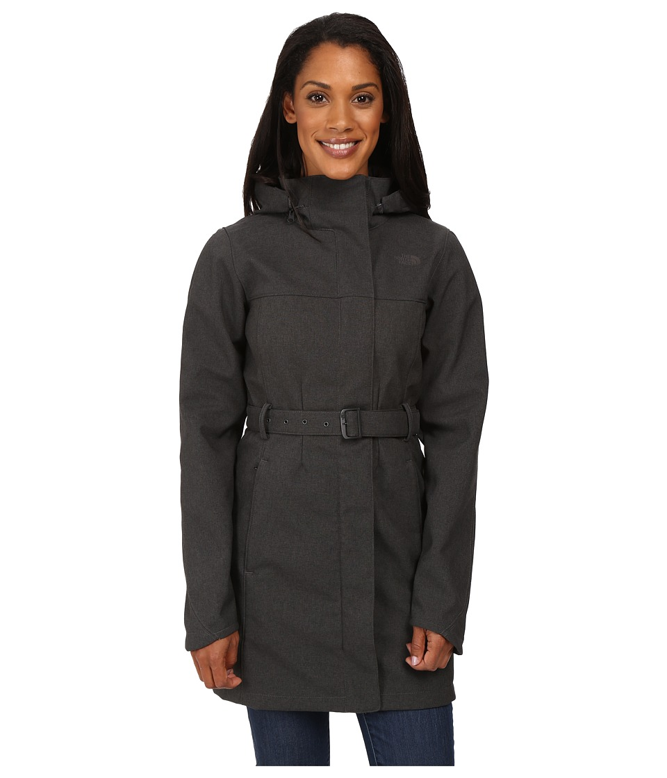 The North Face - Apex Bionic Trench Coat (TNF Dark Grey Heather (Prior Season)) Women's Coat