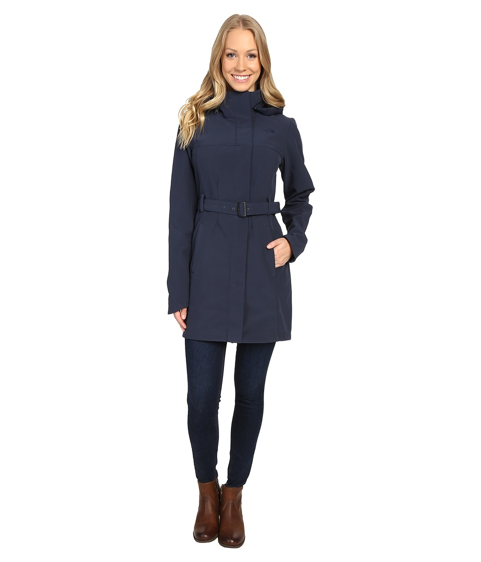 The North Face Apex Bionic Trench Coat (Urban Navy) Women