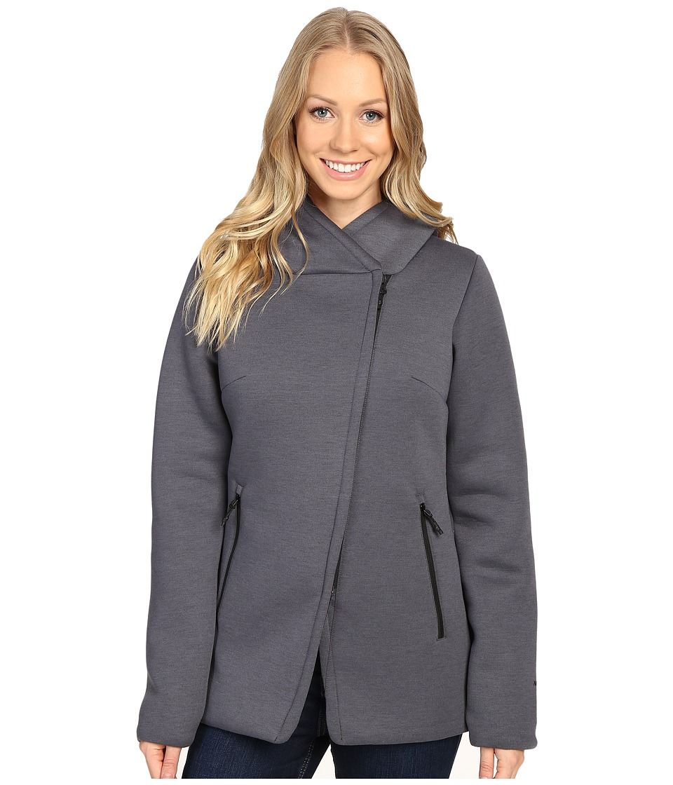 The North Face - Haldee Insulated Parka (TNF Dark Grey Heather) Women's Coat