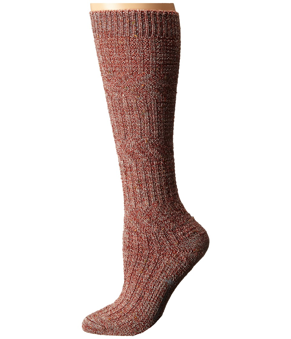Smartwool - Wheat Fields Knee Highs (Moab Rust Heather) Women's Knee High Socks Shoes