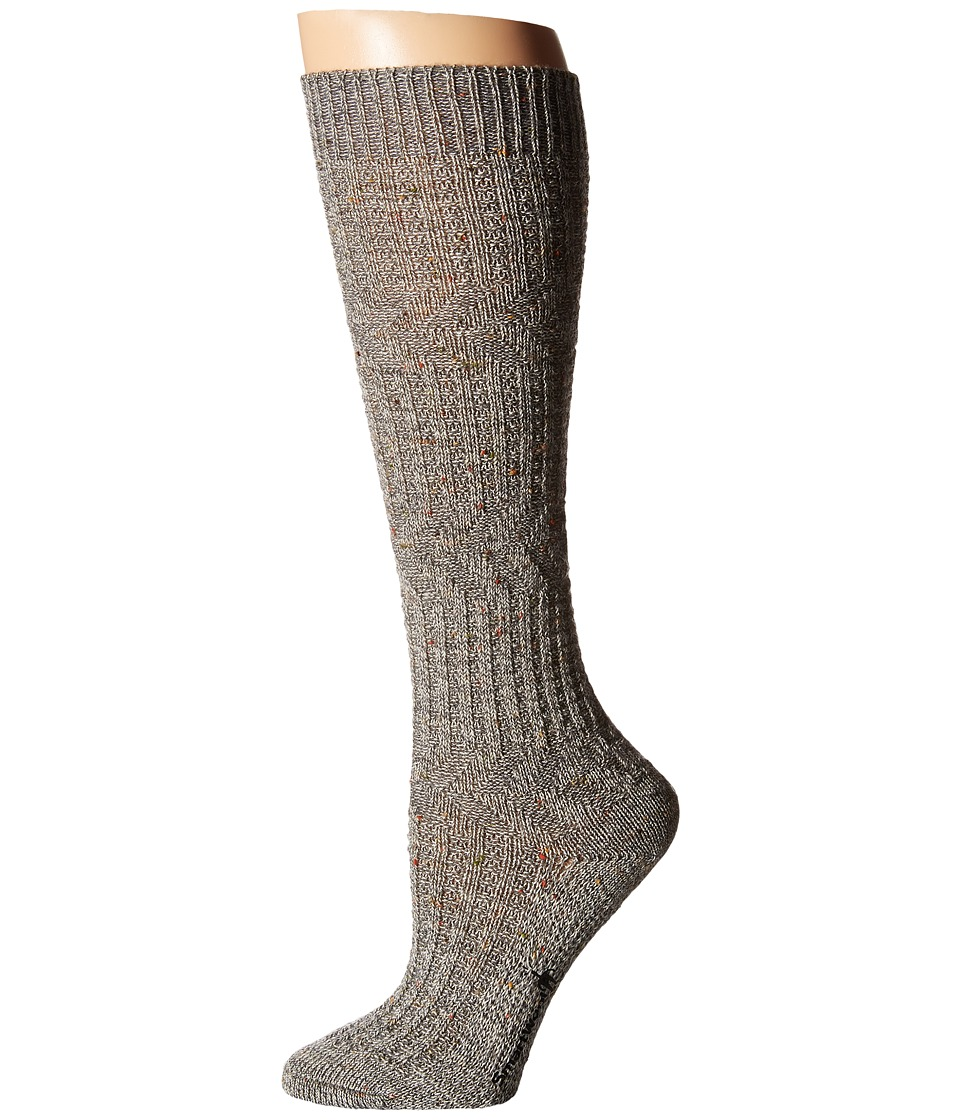 Smartwool - Wheat Fields Knee Highs (Medium Gray Heather) Women's Knee High Socks Shoes