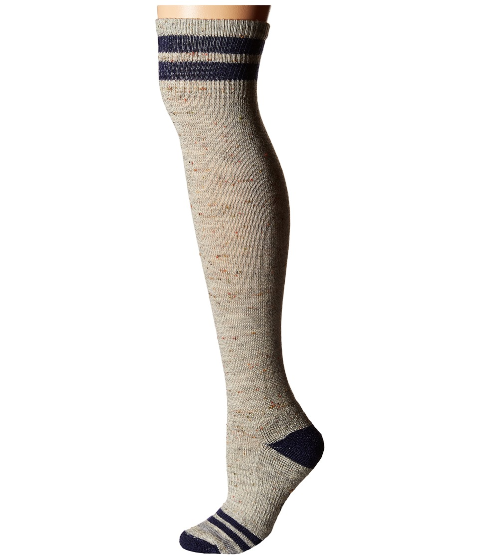 Smartwool - Retro Tube Socks (Light Gray Heather) Women's Thigh High Socks Shoes