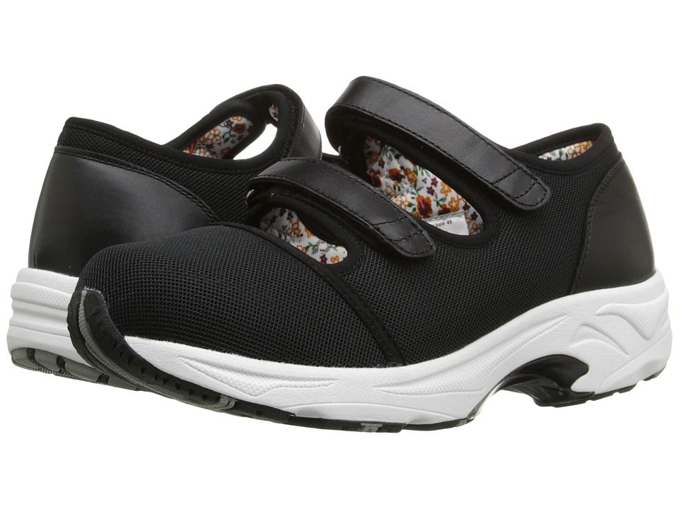Drew - Solo (Black Sport Mesh) Women's Hook and Loop Shoes